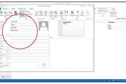 how to create outlook account 2013