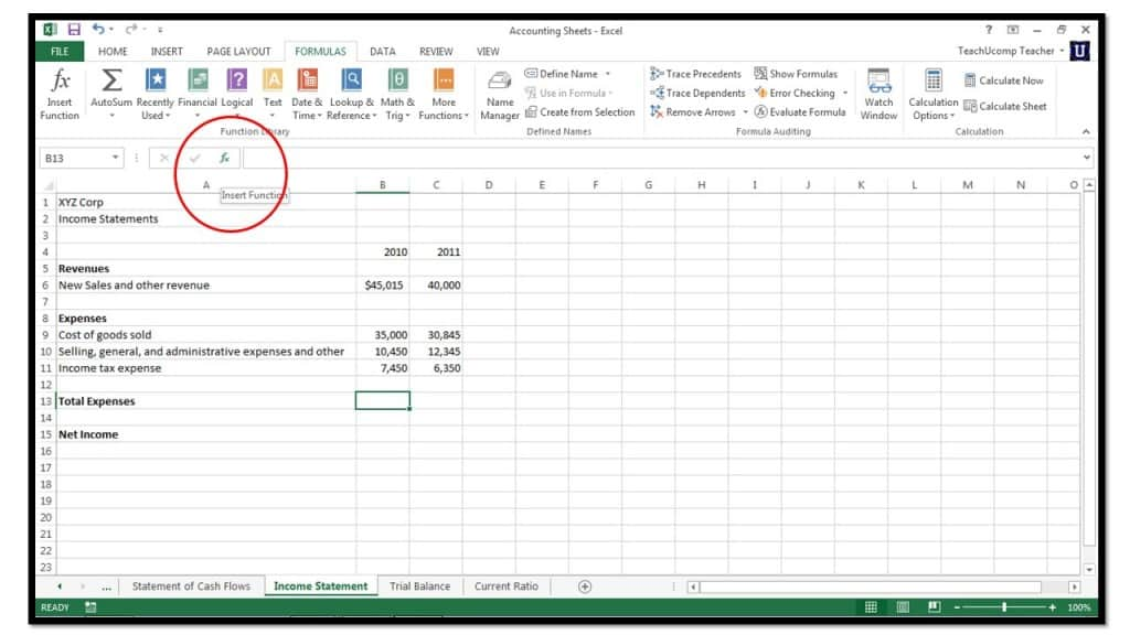 how to create a piecewise function on excel