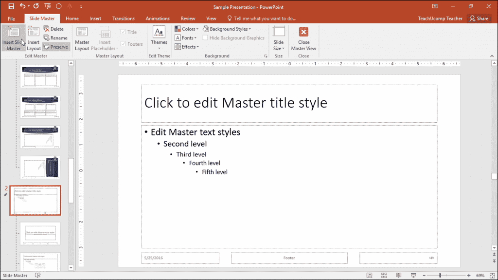 Slide masters in powerpoint instructions teachucomp inc slide masters in powerpoint instructions a picture of a user adding a new slide toneelgroepblik