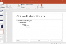 slide masters in powerpoint instructions teachucomp inc