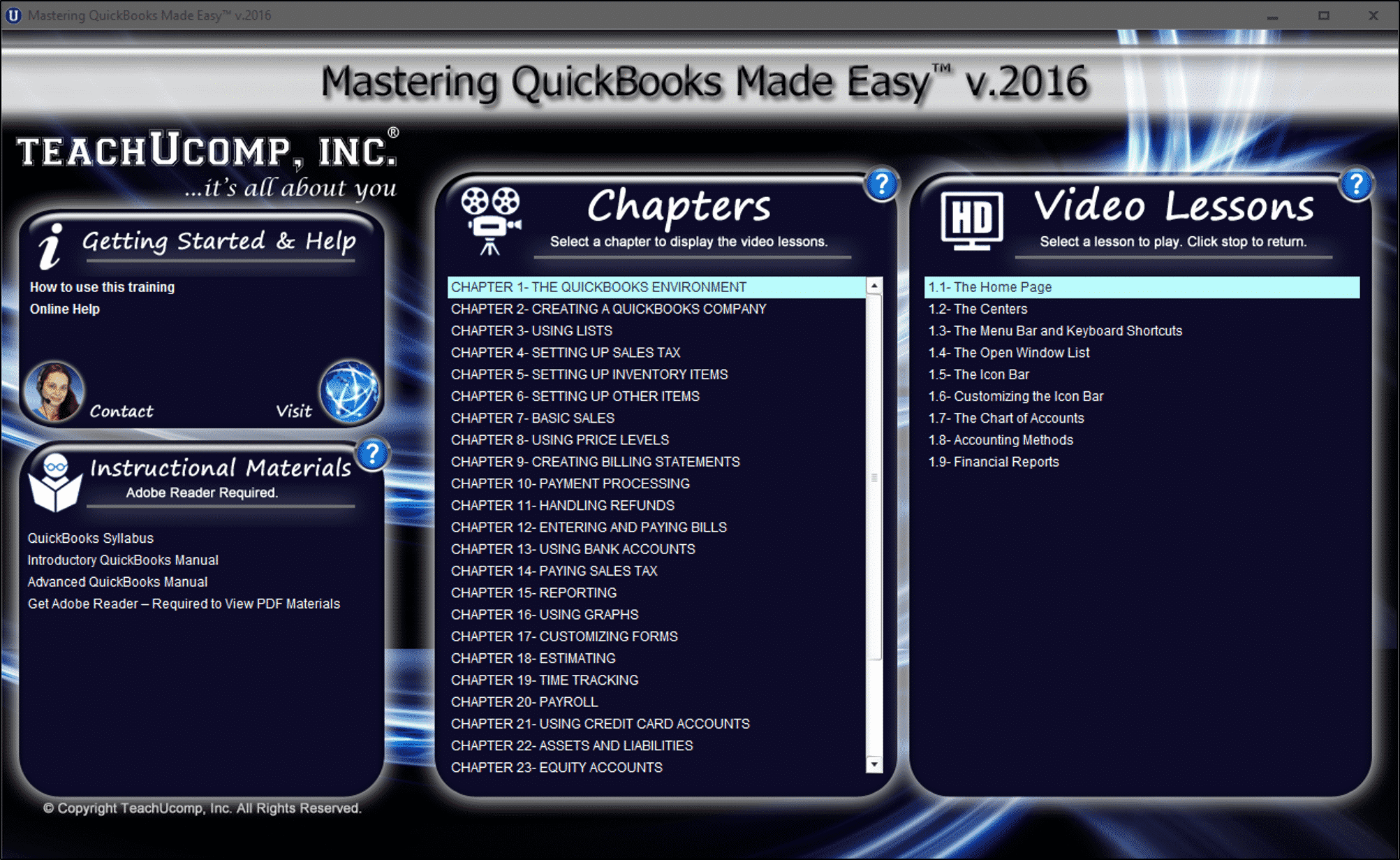buy quickbooks pro 2016 training teachucomp inc rh teachucomp com