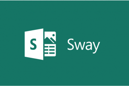 New Office Sway App Preview Released: A picture of the Office Sway logo. Copyright Microsoft Inc.