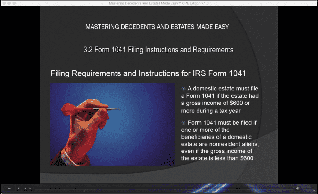Form 1041 Filing Instructions and Requirements