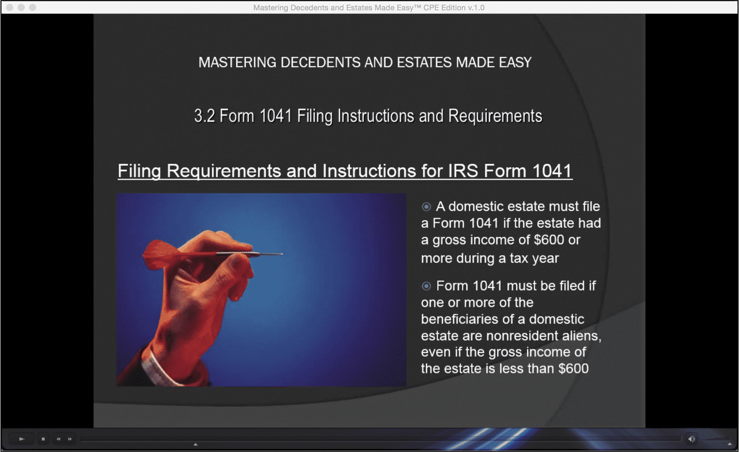 Form 1041 filing instructions and requirements falaconquin