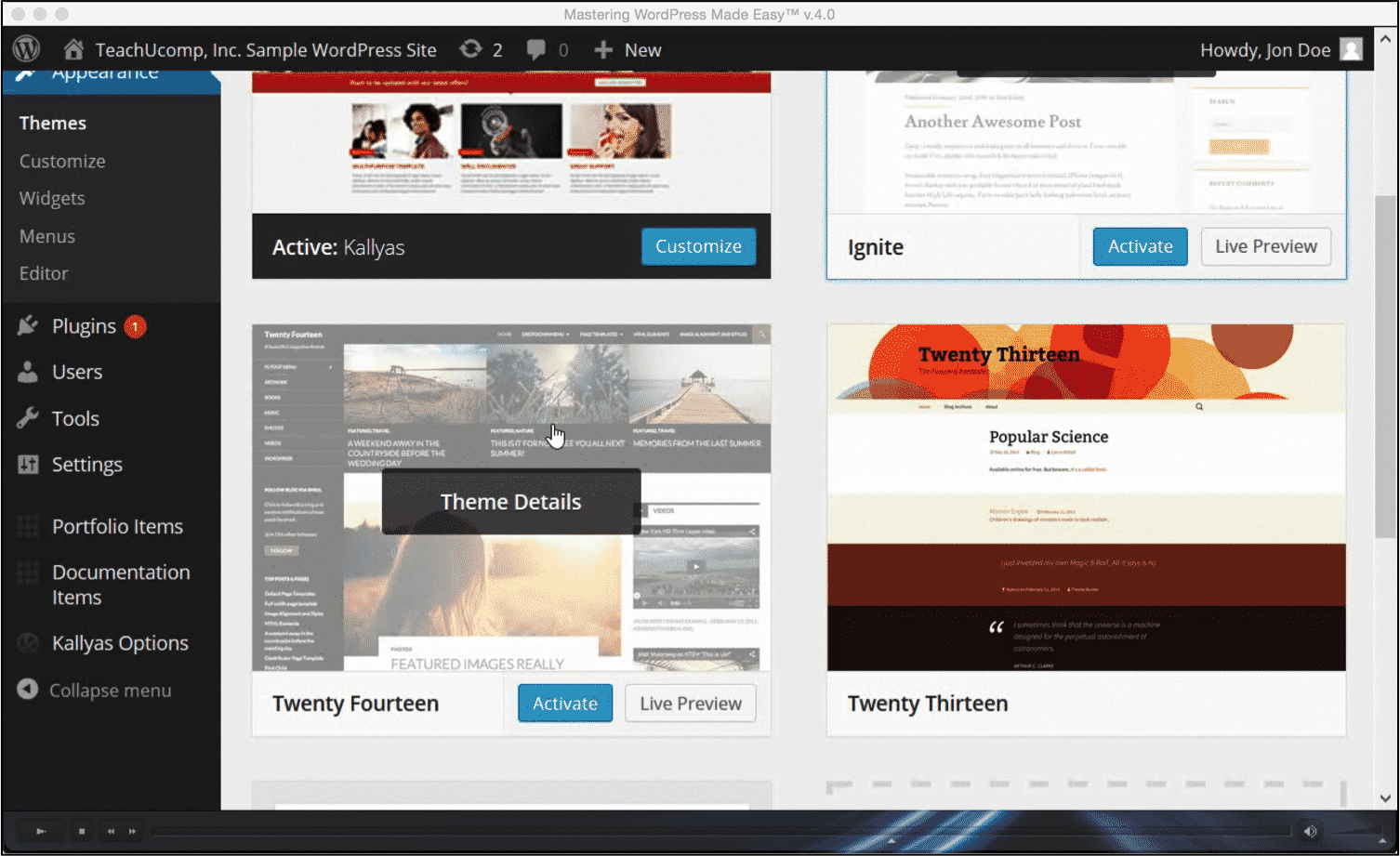 Change wordpress themes tutorial and instructions baditri Images