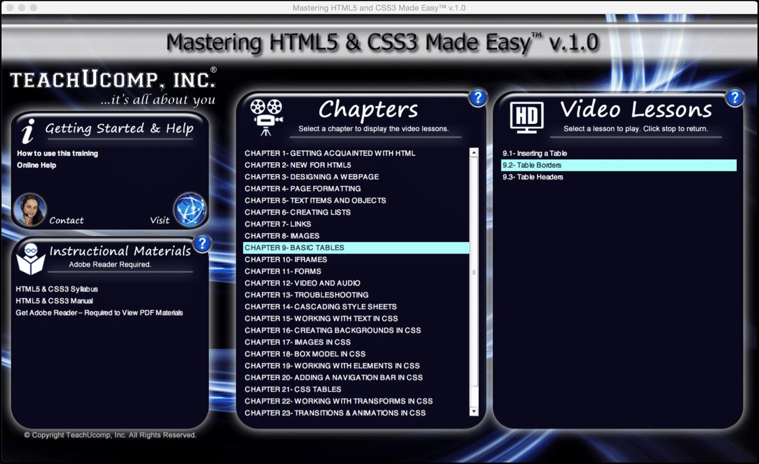 html terminology- tutorial - teachucomp, inc.