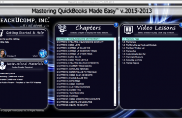 Buy QuickBooks Pro 2015 Training: A picture of the