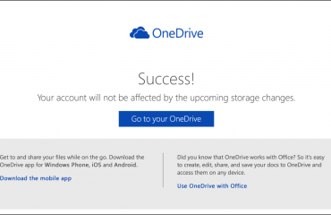 Keep Your 15 GB Free OneDrive Storage - News: A picture of the
