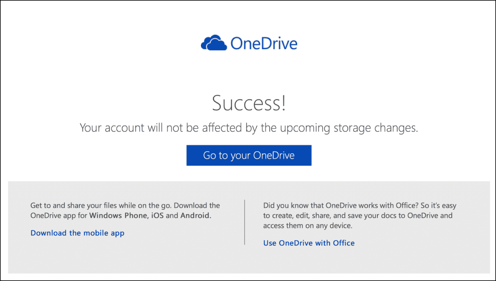 Keep Your 15 GB Free OneDrive Storage