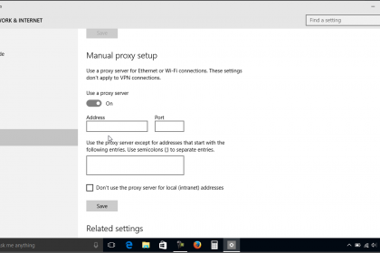 Proxy Settings in Windows 10- Tutorial - TeachUcomp, Inc