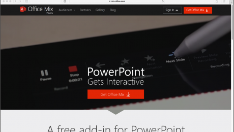 Office Mix for PowerPoint 2013 Preview Now Available: A picture of the