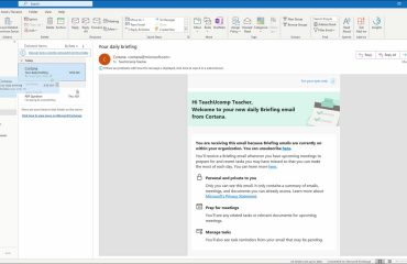 Recover Deleted Items in Outlook - Instructions: A picture of a user moving a deleted item back to the Inbox folder within Outlook.