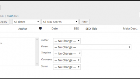 Bulk Edit in WordPress- Tutorial and Instructions: A picture of the