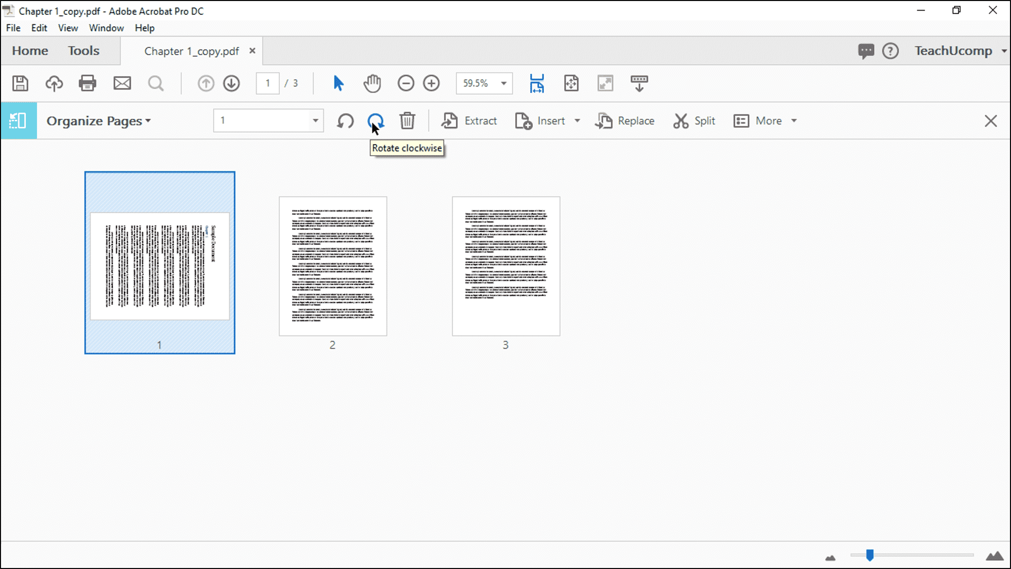 Rotate Pages in Acrobat- Instructions and Video - TeachUcomp