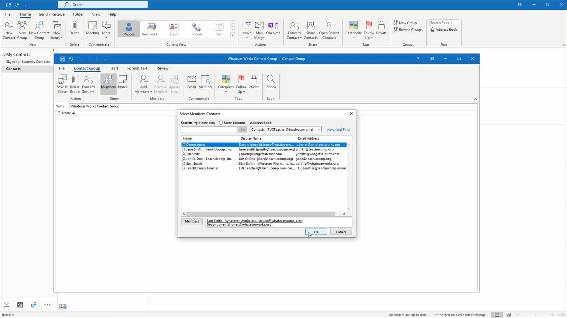 Create a Contact Group in Outlook  Instructions and Video Lesson