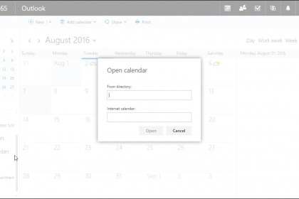 how to delete a shared calendar in outlook