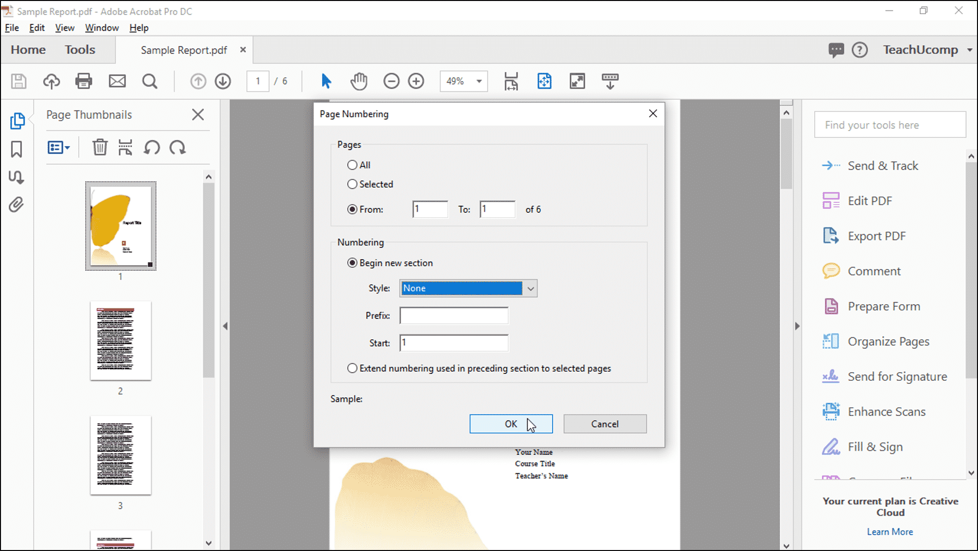 extract pages from pdf adobe reader windows