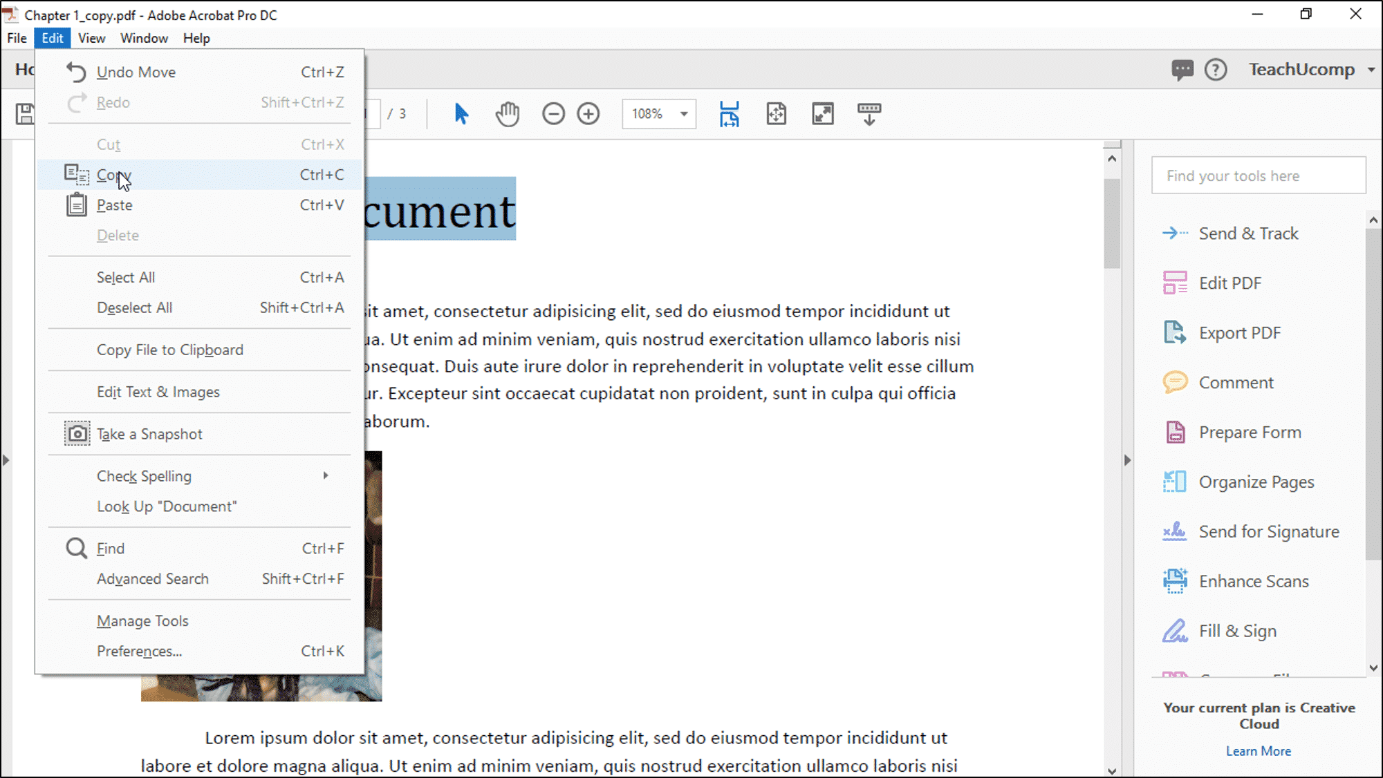 How to edit text box in adobe acrobat reader dc