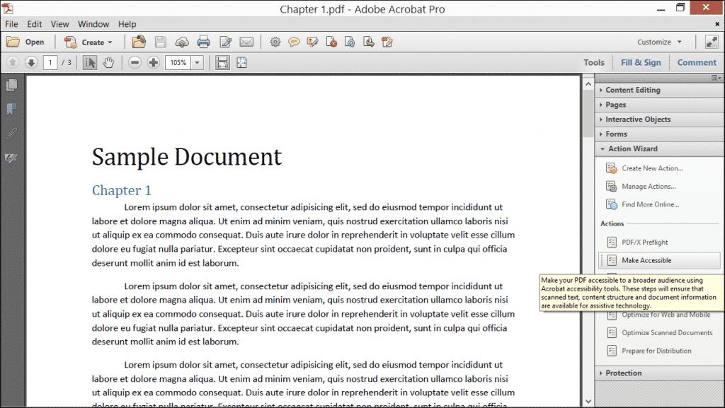 create blank pdf acrobat xi