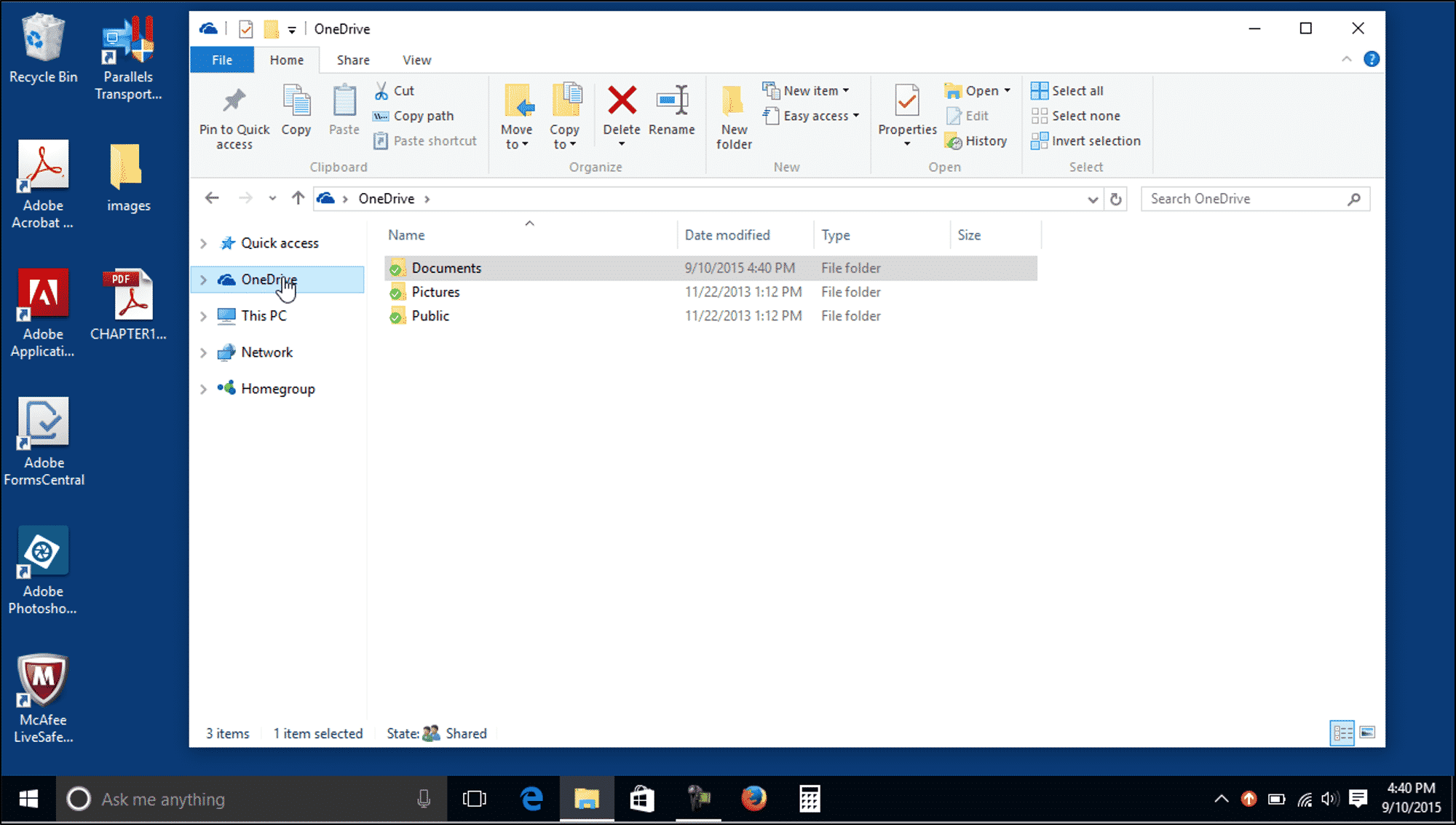 microsoft onedrive how to have documents appear offline