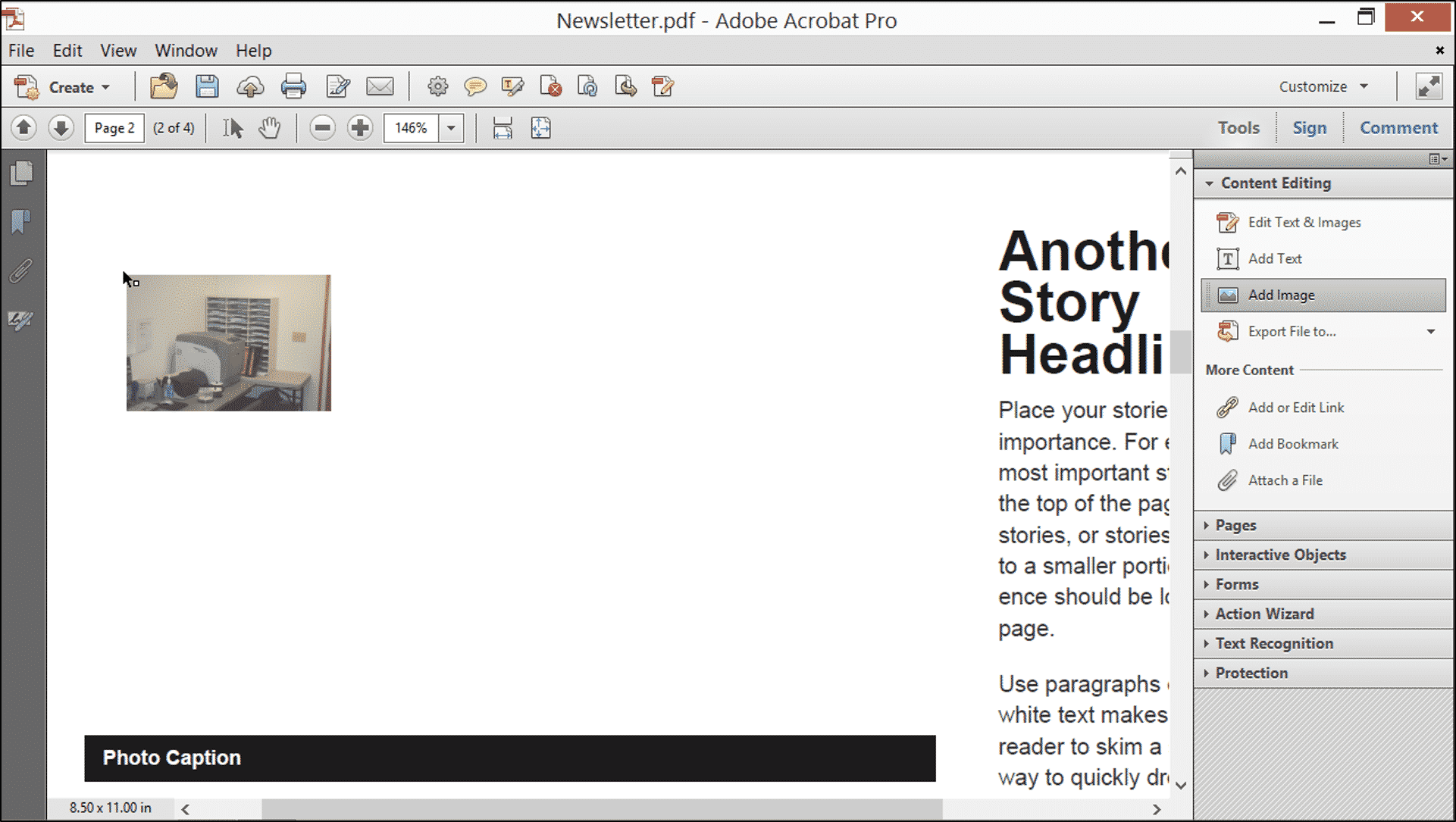 Add Images in Acrobat XI Pro- Tutorial - TeachUcomp, Inc.