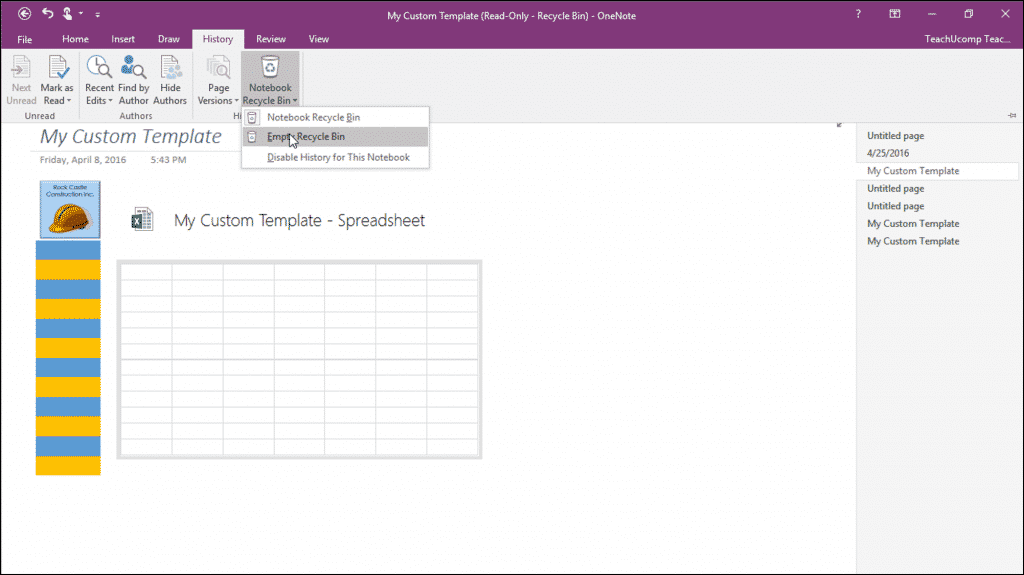 <yoastmark class='yoast-text-mark'><yoastmark class='yoast-text-mark'><yoastmark class='yoast-text-mark'>The Notebook Recycle Bin in OneNote - Tutorial: A picture of a user emptying the notebook recycle bin in OneNote 2016.</yoastmark></yoastmark></yoastmark>