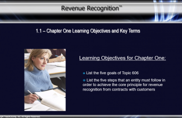 Continuing Education for CPAs in Accounting and Auditing - News: A picture from a video lesson in the