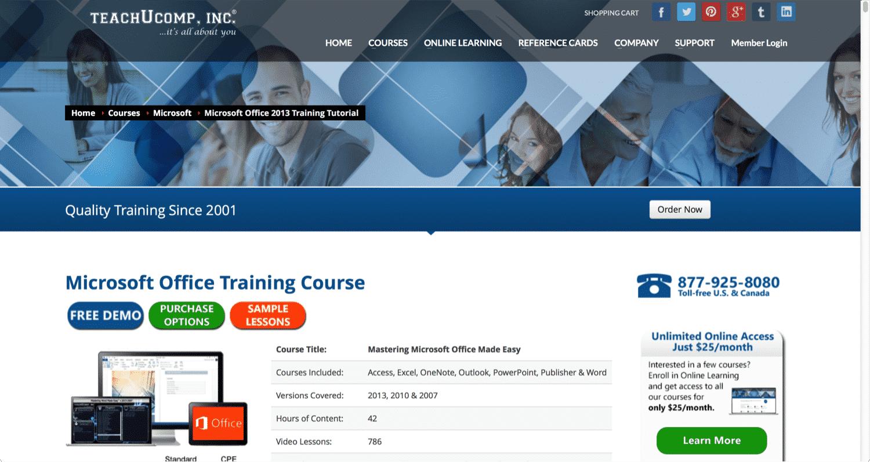 Microsoft Office 365 vs. Microsoft Office 2013 Training