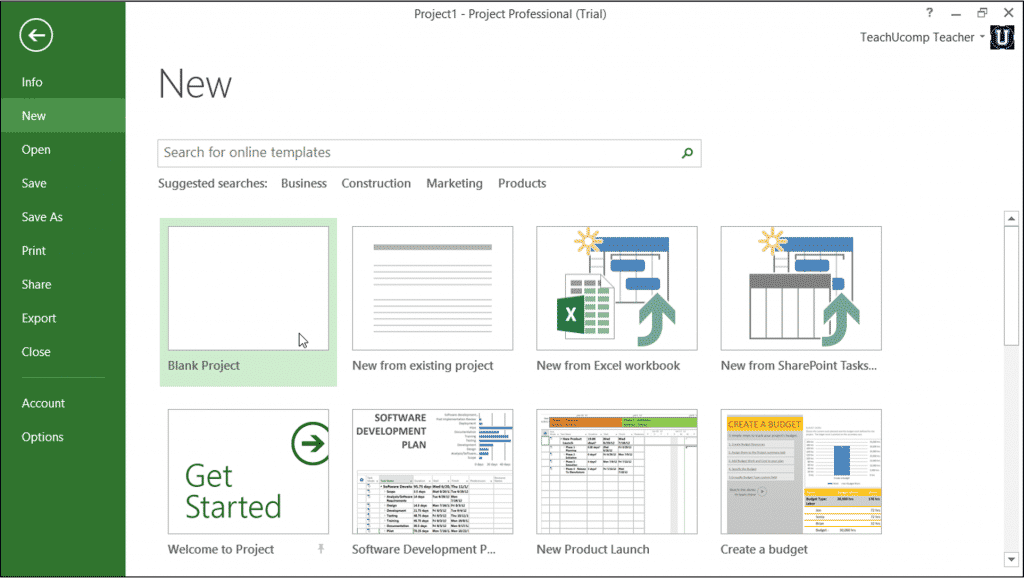 All News Tutorial Microsoft Project Getting Started Step By Step Beginer