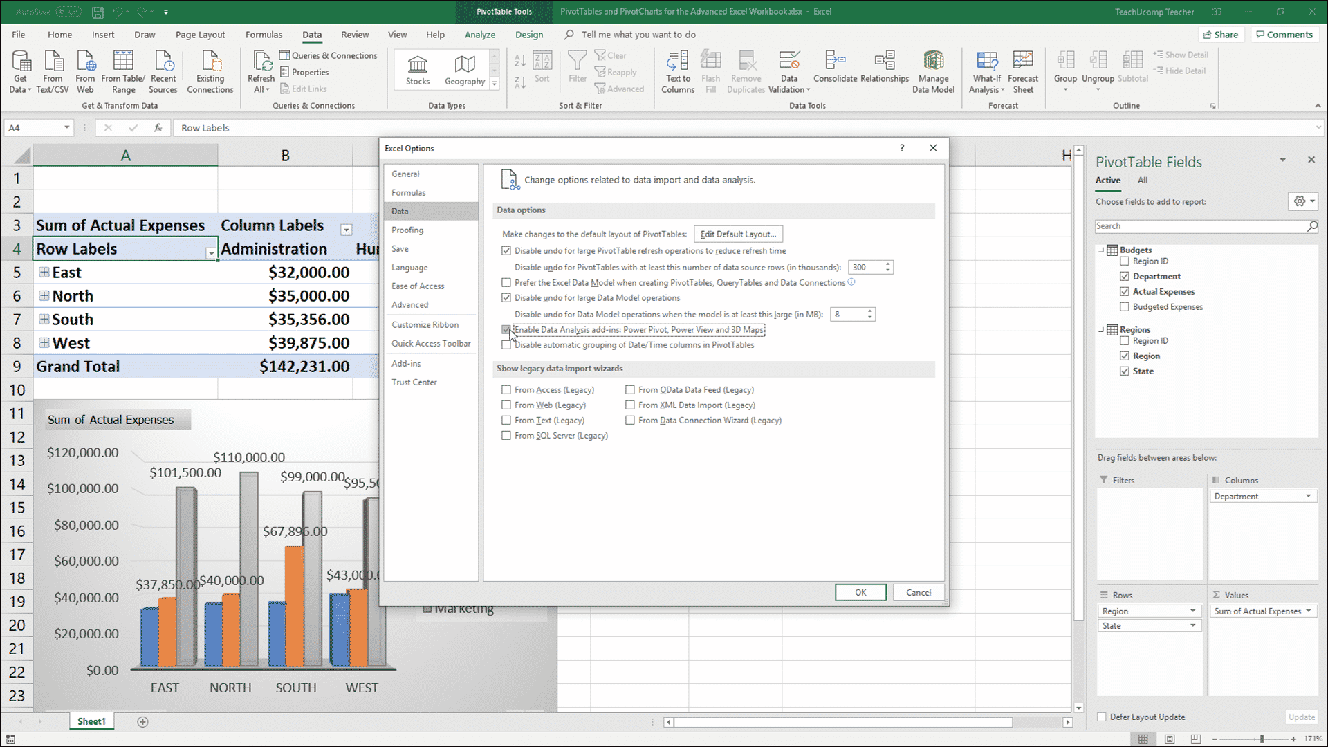 Enable Power Pivot in Excel - Instructions - TeachUcomp, Inc.