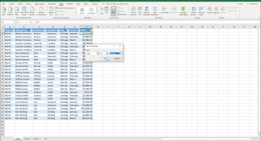 "Use a Top 10 AutoFilter in Excel - Instructions: A picture of the ""Top 10 AutoFilter"" dialog box in Excel."