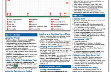 """A picture of our new product release, """"Microsoft Excel 2013 Introductory Quick Reference Guide."""