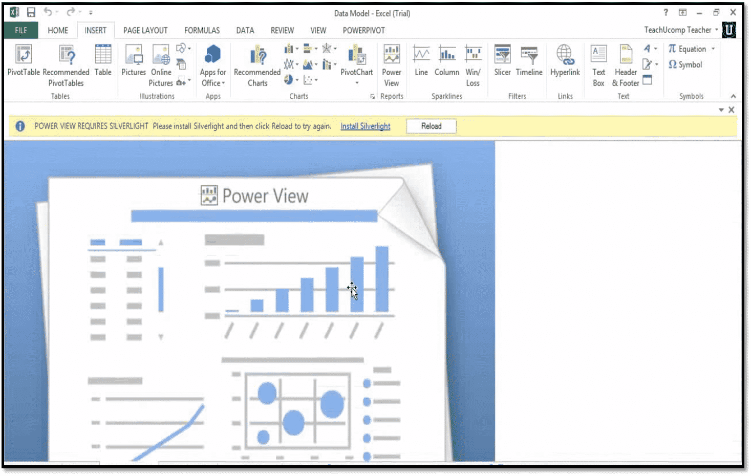 How to use power view in excel 2013 teachucomp inc starting power view biocorpaavc Image collections