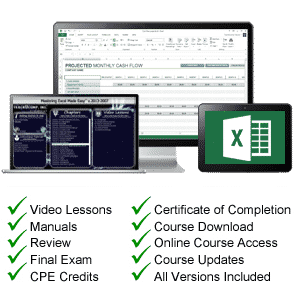 excel 2016 tutorial: An image of our Excel 2016 tutorial