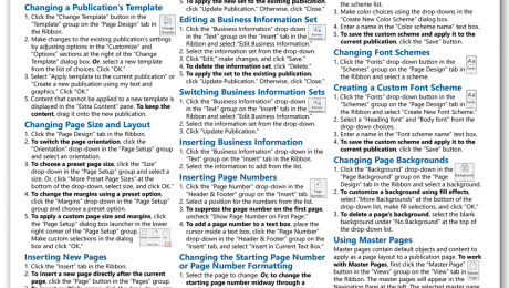 publisher 2016 cheat sheet archives teachucomp inc