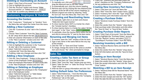 QuickBooks Pro 2016 Quick Reference Cards: Buy QuickBooks Pro 2016 Quick Reference Cards at TeachUcomp, Inc. A picture of the first page of the QuickBooks Pro 2016 Quick Reference Card.