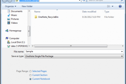 How to Share Notebooks in Microsoft OneNote 2013